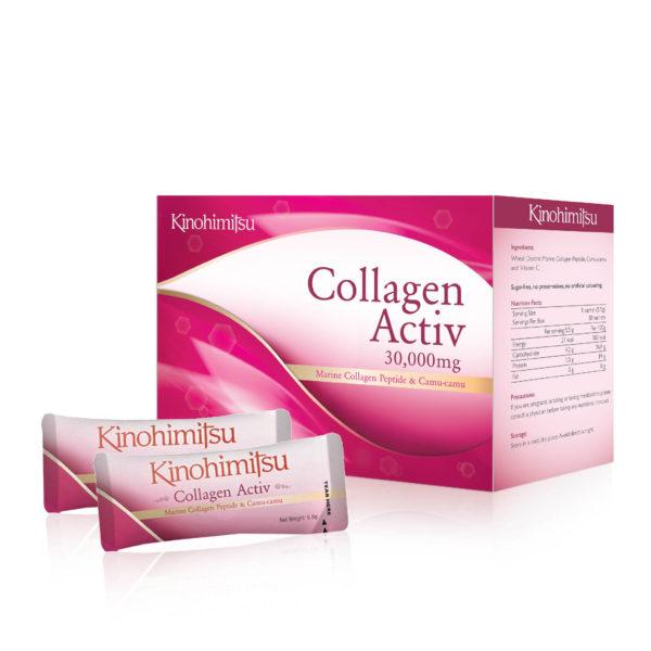 Купить коллаген в порошке Kinohimitsu Collagen Activ 30's