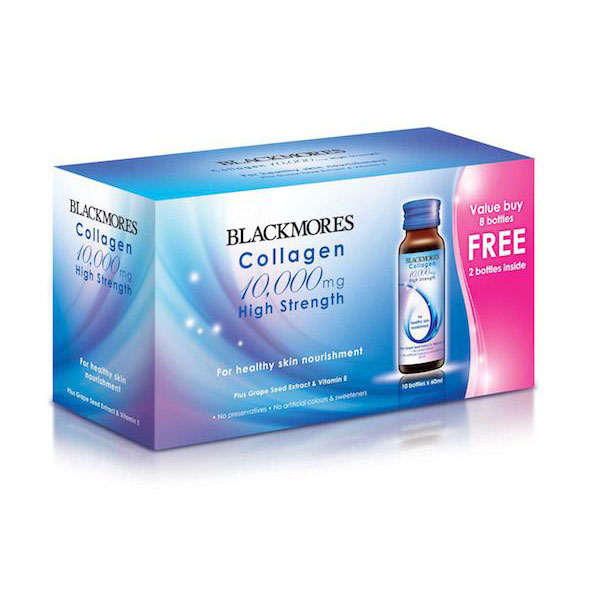 Жидкий питьевой коллаген blackmores collagen 10000 mg
