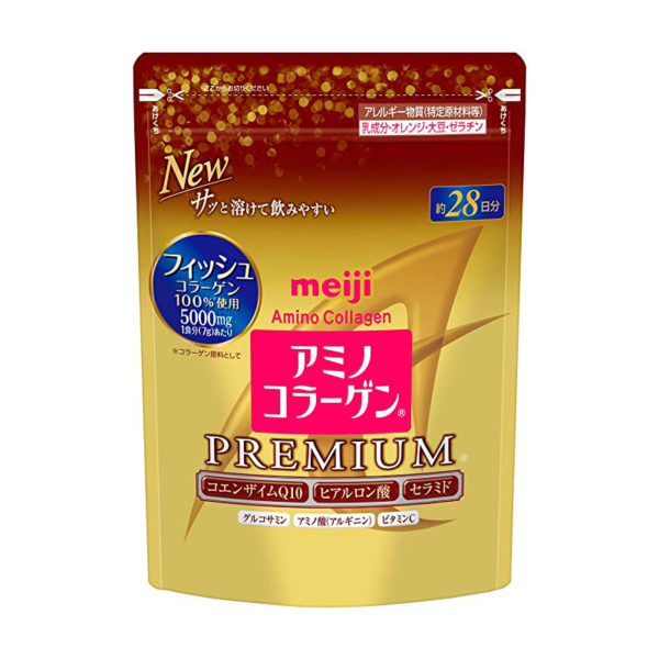 meiji amino premium collagen new pack