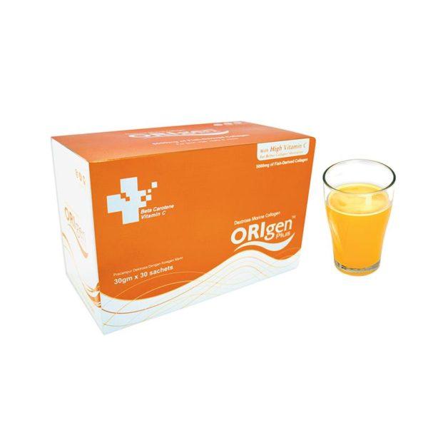 Купить питьевой коллаген ORIGEN PLUS collagen в порошке